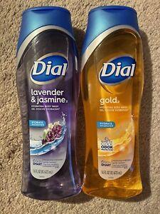 Dial Spring Gold + Lavender Jasmine Body Wash 21oz (2 Pack)