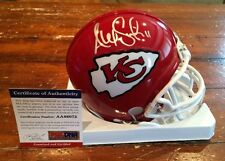 Alex Smith Autographed Signed Kansas City Chiefs Mini Helmet PSA & Lojo Sports