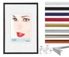 Galeria Bilderrahmen 9x13 cm bis 70x100 cm DIN Bilder Kunststoff Foto Rahmen
