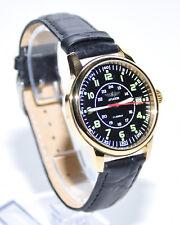 Aviator Poljot Fliegeruhr 17 Steine Armbanduhr Poljot Uhr Gold Wasserfest 5ATM