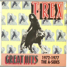 Great Hits 1972-1977: The A-Sides by T. Rex (CD, May-1997, Chronicles)