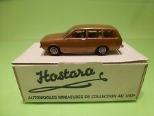 HOSTARO 42 BUILT KIT  OPEL KADETT C CARAVAN  - GOLD 1:43 - NICE IN BOX