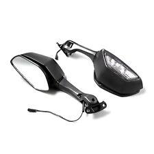Turn Signal Light W/ Rear View Mirrors For Kawasaki Ninja ZX10R 2011-17 H2 14-15