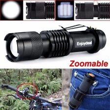 Flashlight 2000 Lumens CREE Q5 LED Torch AA/14500 Adjustable Zoom Focus Torch