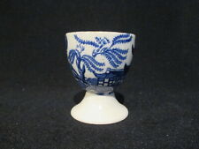 Burleigh Ware / Burgess & Leigh - WILLOW BLUE - Egg Cup - circa 1950