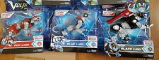 Set of 3 DreamWorks Voltron 5.5 inch Action Figure - Blue Red Black Lion