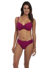 New Fantasie Ottawa Mid Rise Bikini Brief -  ONLY - Medium 12 Mulberry