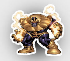 Marvel Thanos Infinity Wars Avengers 4 Gauntlet avengers car laptop sticker