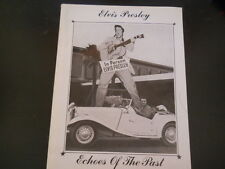 Elvis Presley - Echoes Of The Past Book