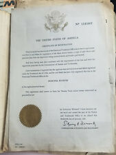 1981 Usa Certificate of Registration Patent Hearthmaster