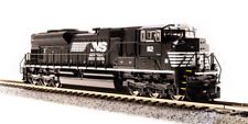 Broadway Limited N SCALE EMD SD70ACe NS #1112 Black w/ White livery Sound/DC/DCC
