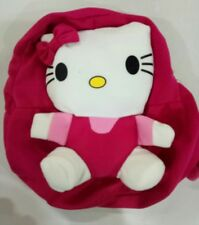 Jiestine🌻pink hello kitty stuff toy mini backpack party needs birthday gift