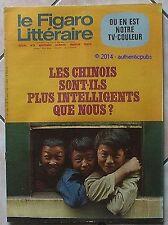 LE FIGARO LITTERAIRE REVUE N° 1253 MAI 1970 TV COULEUR LES CHINOIS INTELLIGENTS