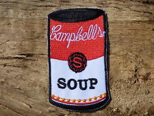 ECUSSON PATCH THERMOCOLLANT aufnaher toppa SOUP CAMPBELLS andy warhol pop art