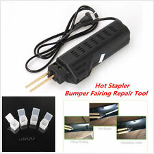 Hot Stapler Car Bumper Fender Fairing Welder Gun Staples Plastic Repair Kit 220V