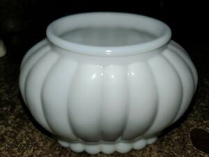 Vase White Milk Glass