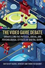 The Video Game Debate: Unravelling the Physical, Social, and Psychological Effec