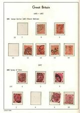 1865-1867 3d & 4d PLATES FINE USED  SG CAT £1360 ON 2 LIGHTHOUSE PAGES