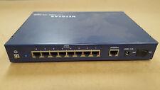 12Vdc, 1.2A,8 Ports, Model Fvs318 Netgear Prosafe Vpn Firewall
