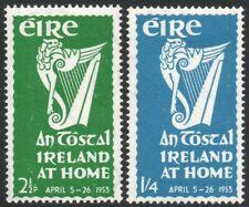 IRELAND-1953 'An Tostal' Set Sg 154-155 MOUNTED MINT V42159