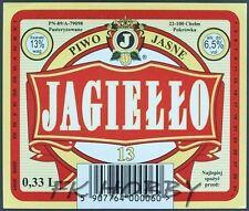 Poland Brewery Pokrówka Jagiełło Beer Label Bieretikett Cerveza pk16.25