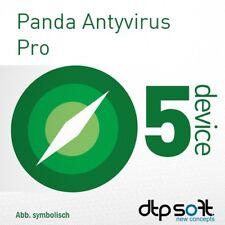 Panda AntiVirus PRO / Dome Essential 2019 5 PC 5 Appareils 1 an BE EU