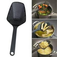 1 Pcs Cooking Shovel Vegetable Strainer Scoop Spoon LARGE Colander Soup Filter