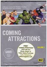 COMING ATTRACTIONS VOLUME 1 BEST BUY (DVD, 2003) NEW