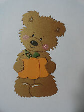 Scrapbooking~Card Topper~ Die Cut~Embellishment~Paper Piecing~ Pumpkin ~ Fall