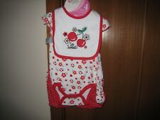 BABY GEAR GIRL'S RED 3/6 MONTH 4 PIECE SET~~~ NEW WITH TAGS AND FREE SHIPPING~~