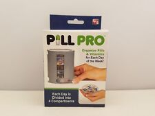 Pill Pro Compact Pill Organizer | PPB00012 | 7 Portable Trays | As Seen On TV