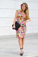 Zara Femmes Robe Droite Taille M