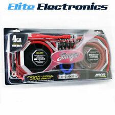 Stinger SK4641 amplifier Cable Set 4000 series-1500 Watt 150A 4 Gauge 21,15mm²