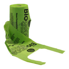 Dog Poo Bags HOME COMPOSTABLE w/ Handles and Gussets | 225 or 900 Pet Waste Bags