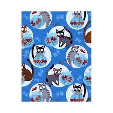 Timeless Treasures Fabric - Go Fish - Hoodie - 100% Cotton cat