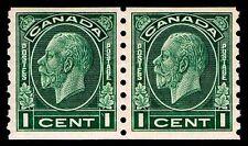 CANADA #205  REGULAR MEDALLION COIL PAIR MOGNH - VF -  2014 CV  $52.00  (ESP#55)