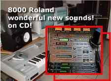 CD Roland JV80 JV90 JV 80 90 jv1010 jv2080 sr-jv80 patch sounds sound sysex midi