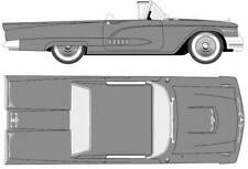 "FORD THUNDERBIRD 1958-1966 CONVERTIBLE TOP ""ACME"""
