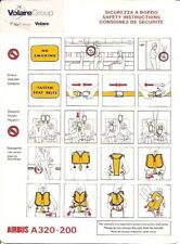 Safety Card - Volare Group-Air Europe Stic A320 (SC496)