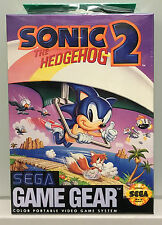 Sonic The Hedgehog 2 SEGA Game Gear RARE