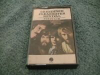 "CREEDENCE CLEARWATER REVIVAL ""Pendulum"" Cassette with Blue Label"