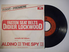 DIDIER LOCKWOOD : ALDINO / THE SPY ♦ 45t. PORT GRATUIT ♦