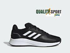 Adidas RunFalcon 2.0 Nero Scarpe Shoes Ragazzo Sportive Running FY9495