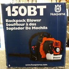 *NEW* Husqvarna 150BT 50cc 2 Cycle Gas Commercial Leaf Backpack Blower