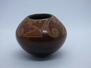 Susan Folwell Santa Clara Pueblo Native American Pottery - Small Vase