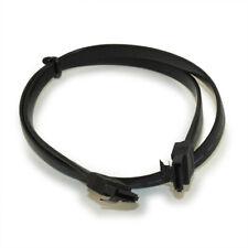 24inch SATA III Internal Data Black Bulk Cable  Locking  to 6GB