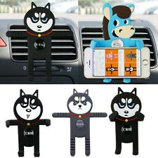 Auto Handy Halterung Halter Universal Hund Motiv Apple iPhone Samsung Huawei HTC