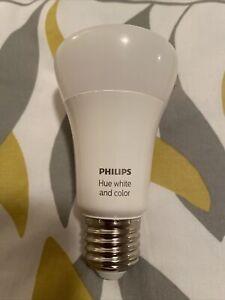 Philips Hue White and Colour Ambiance E27 LED Bulb