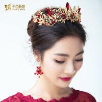 New Vintage Wedding Bridal Crystal Headband Crown Tiara Ms Hair Accessories Band