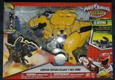 Bandai Limited Edition Power Rangers Dino Super Charge Deluxe Yellow T-Rex Zord